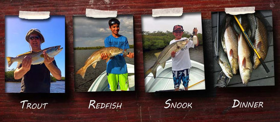 fort myers fishing guides, fort myers fishing charters snook, redfish and trout